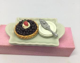 Blueberry Tart Ring