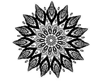 Symbolic temporary tattoo