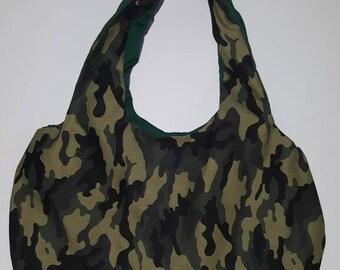 Army Camouflage Handbag