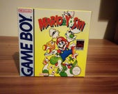 Game Boy Mario and Yoshi  Repro Box  Insert NO GAME INCLUDED