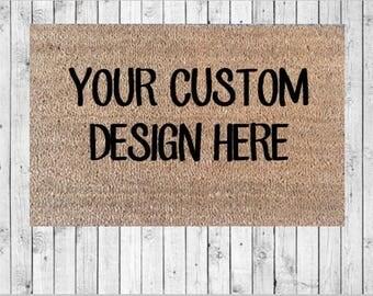 Custom Doormat | Etsy