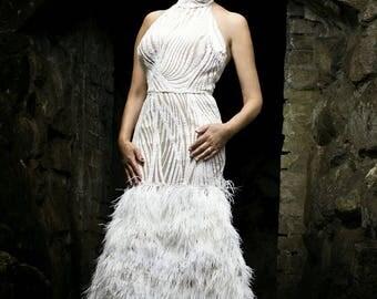 Wedding dress haute couture wedding dress