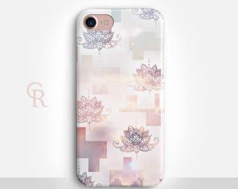 Lotus iPhone X Case For iPhone 8 iPhone 8 Plus - iPhone X - iPhone 7 Plus - iPhone 6 - iPhone 6S - iPhone SE - Samsung S8 - iPhone 5
