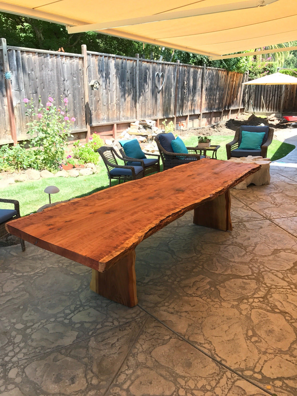 Details. Burled Redwood Top.