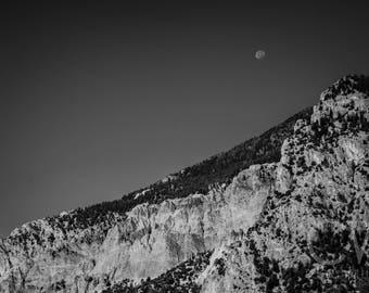 Colorado - Mountain - Moon