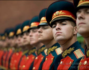 Poster, Many Sizes Available; Russian Military Honor Guard