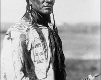 20% Off Sale - Poster, Many Sizes Available; Native American Indian Peigan 1910 By Edward Curtis