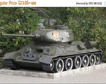 20% Off Sale - Poster, Many Sizes Available; Russian Soviet T-34 Tank