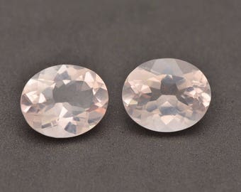 Natural Rose Quartz Calibrated Size 5x3mm,6x4mm,7x5mm,8x10mm Oval Faceted Cut Top Quality Loose Gemstone Wholesale Lot For Sale
