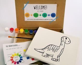 Dinosaur Paint Kit