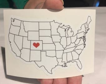 Colorado Love - Sticker