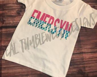 Youth Mermaid Name Shirt