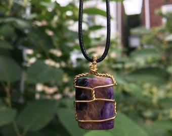 1 Charoite Necklace