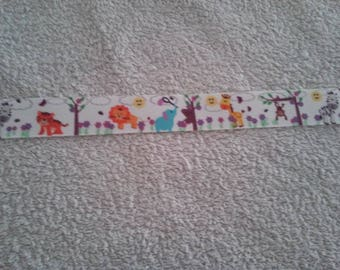 Animal Ribbon (1 m) 22mm