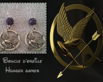 Hunger games earring