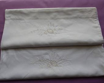 Linen Pillowcases, a Pair, 1930