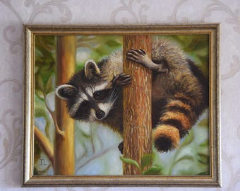 Pole dance (Raccoon)