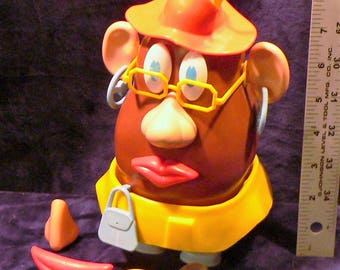 Vintage Mrs. Potato Head Fireman and extras