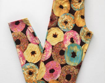 Donut Leggings - Donut Party - Donut Baby Shower - Donut Gift Idea - Donut Theme -Donut Sprinkles -Donut Birthday Party -Donut Bridal Shower