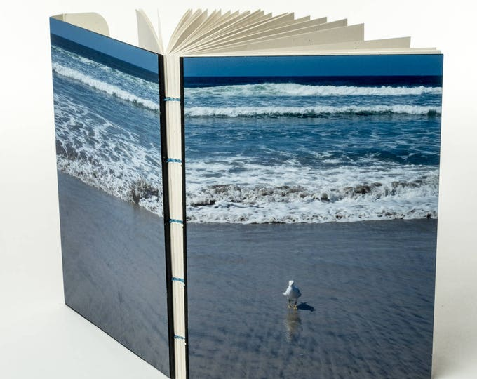 "SEAGULL SENTINEL | 144 ~5.5x4"" blank pages w/ clasp closure 