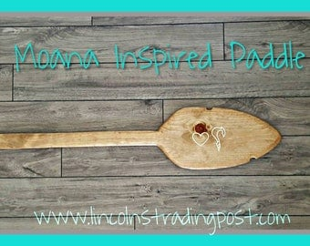 Personalized Hawian Inspired Paddle