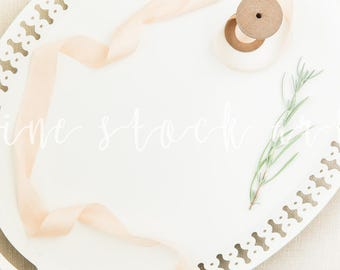 Styled Tray stock Photo | Instant Download | Add Your Own Text/Images