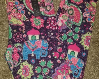 Elephant os leggings one size