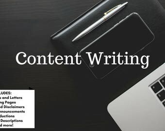 Content Writing Services - Personal and Business Writing Service - Writing Assistant