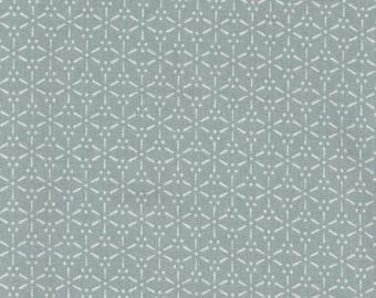 Au Maison oilcloth Sakura verte Mint Grey
