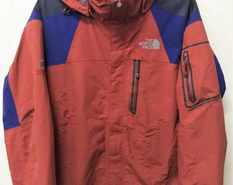 VINTAGE NORTH FACE Summit Series Gore-Tex Multi-color Jacket Hiking Outdoor Camping Winter