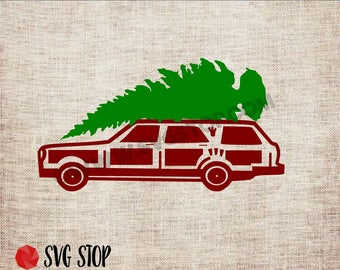 Christmas Vacation Station Wagon SVG DXF PNG Clipart for Cricut Silhouette You Serious Clark