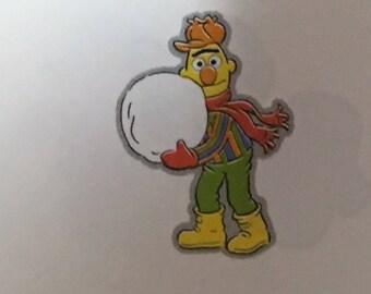 Bert die cut from Sesame Street