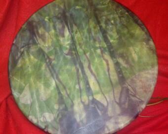"""14"""" Elk skin Shamanic drum - Forest Nymph"""