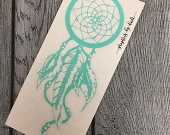 Dream Catcher Vinyl Decal - Decal - Sticker