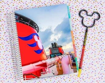 Disney World Erin Condren Life Planner Cover INSTANT DOWNLOAD - Disney Cruise 2