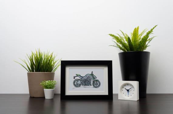 Kawasaki Z1000 | Art Print | Instant Digital Download
