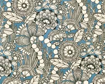 Ghastlie Gardenia from The Ghastlies by Alexander Henry, fabric by the half metre