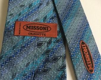 Silk Missoni tie