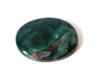 Bloodstone Crystal Cabachone Natural Stone (Beautifully Gift Wrapped)