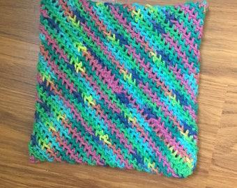 Crocheted potholder 100% cotton