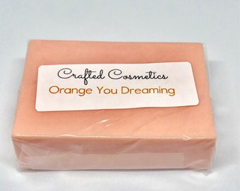 Orange You Dreaming Goats Milk Bar Soap