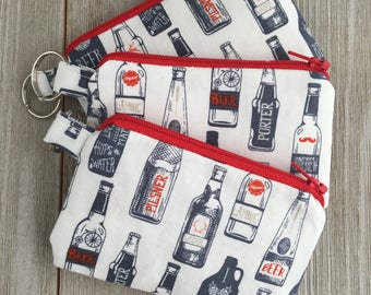 Keychain purse | Coin purse | Small coin purse | Girl's coin purse | Purse pouch | Gifts for her | coin pouch | Gifts under 10