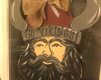 Viking Wooden Door Hanger