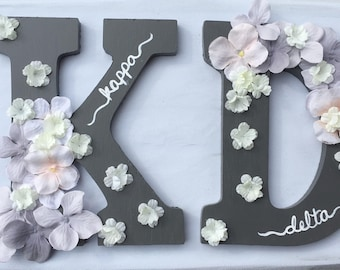 Sorority Wooden Letters Painted (2 letters)