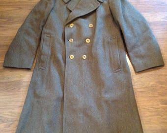 Vintage US ARMY Wool Coat  002