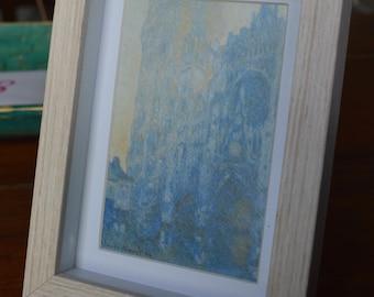 Framed Postcard