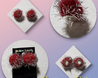Pom-Pon earrings