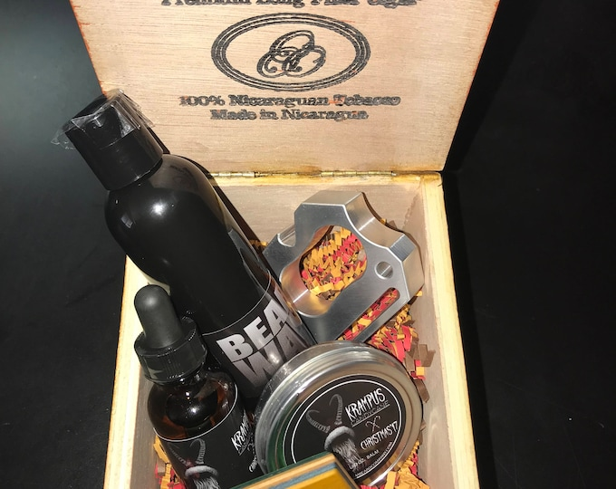 Krampus & Starr Warrs Cigar Box Gift Sets
