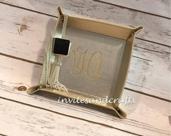 Personalized Snap Jewelry  Tray