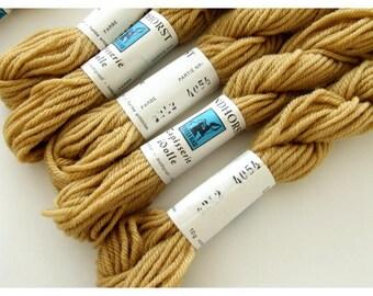 Vintage Tapestry Yarn, 6 Full Skeins of Wool Tapestry Yarn, Lindhorst Edelfrau Tapestery Yarn